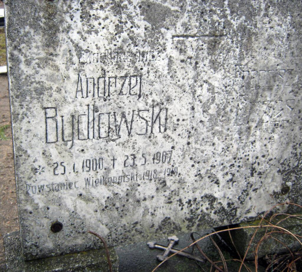Andrzej Bydlowski - cmentarz parafialny we Wrześni  (autor zdjęcia: Remigiusz Maćkowiak)