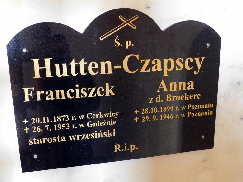 Tablica pamiątkowa w kościele w Bardzie autor zdjęcia: Remigiusz Maćkowiak