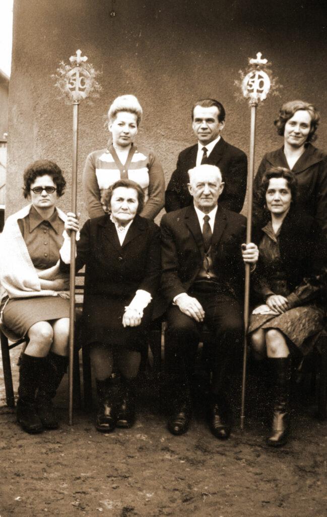 Jan Juszczak z żoną. (zdjęcie udostępnił Remigiusz Maćkowiak)
