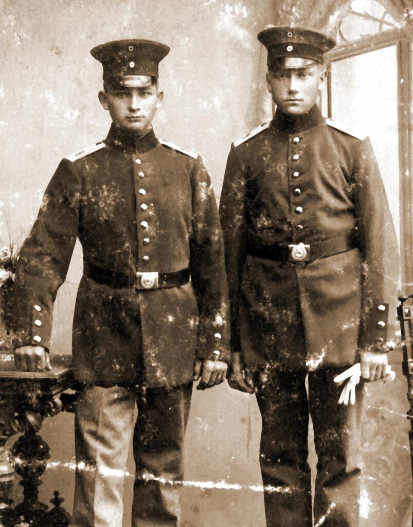 z prawej Józef Jakubowski
