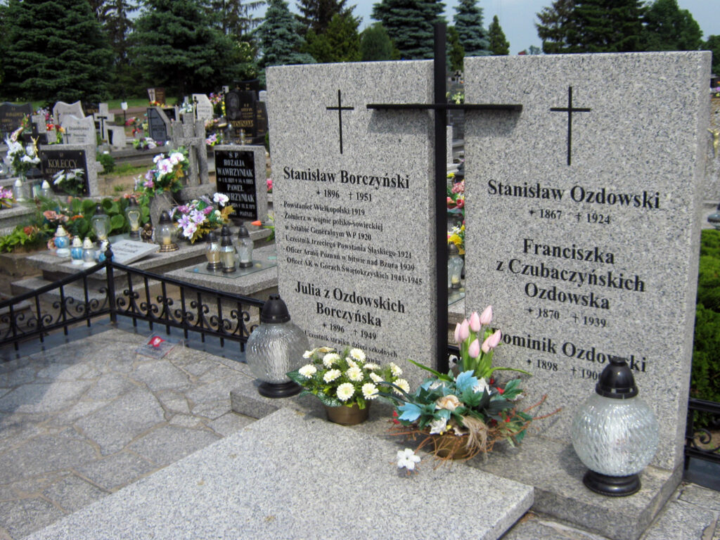 Stanisław Borczyński - cmentarz w Miłosławiu (autor zdjęcia: Remigiusz Maćkowiak)