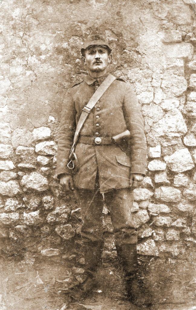 Zygmunt Łęcki w wojsku pruskim.