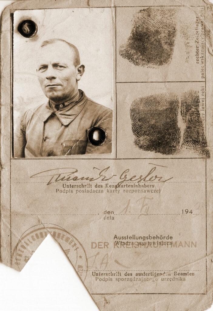 Czesław Pluciński (dokument udostępnił Remigiusz Maćkowiak)
