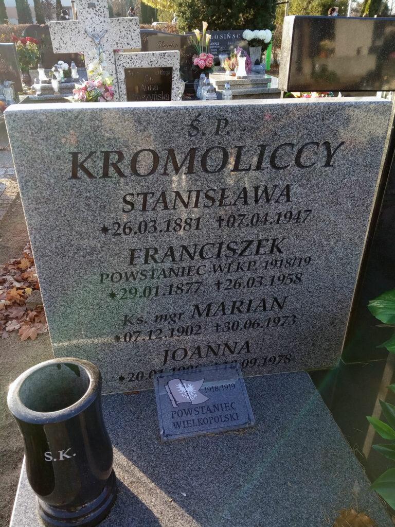 Franciszek Kromolicki (zdjęcie udostępnił Remigiusz Maćkowiak)