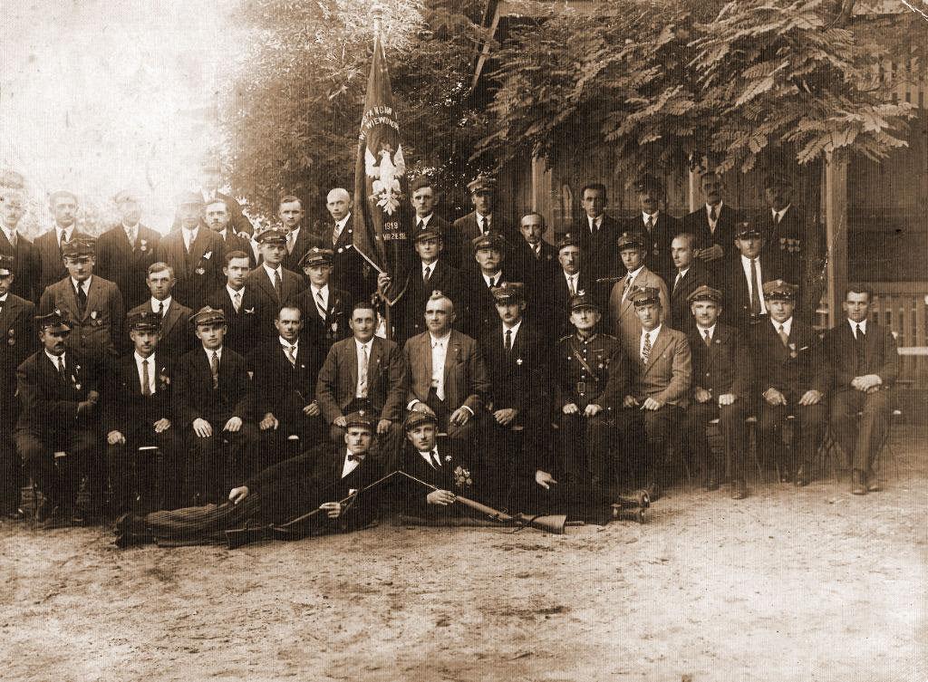 Franciszek Kromolicki - Towarzystwo Powstańców i Wojaków (zdjęcie udostępnił Remigiusz Maćkowiak)