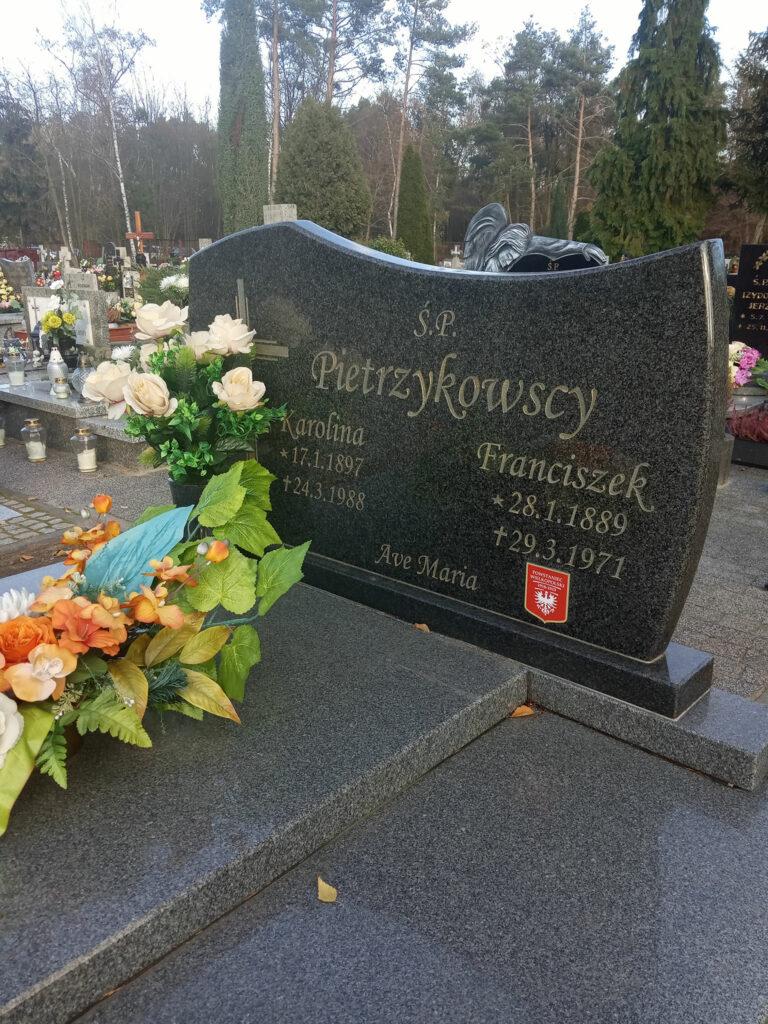 Franciszek Pietrzykowski - cmentarz komunalny we Wrześni (zdjęcie udostępnił Remigiusz Maćkowiak)