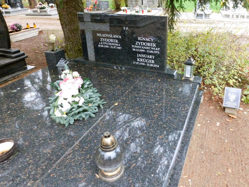 Ignacy Zydorek - cmentarz junikowski w Poznaniu (zdjęcie Remigiusz Maćkowiak)