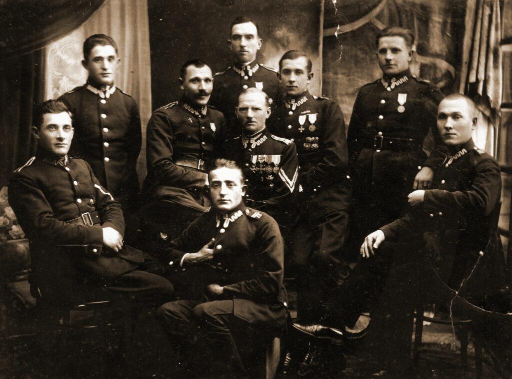 Jakub Pachowiak - 18 Pułk Ułanów Grudziądz (zdjęcie udostępnił Remigiusz Maćkowiak)