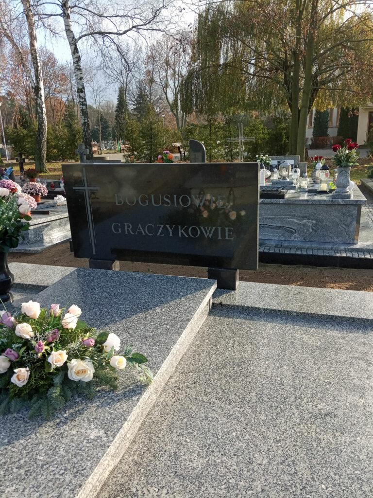 Jan Boguś - cmentarz komunalny we Wrześni (zdjęcie udostępnił Remigiusz Maćkowiak)