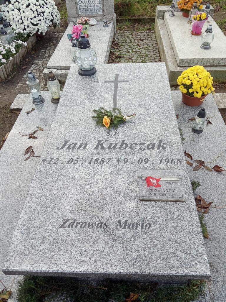 Jan Kubczak (zdjęcie udostępnił Remigiusz Maćkowiak)