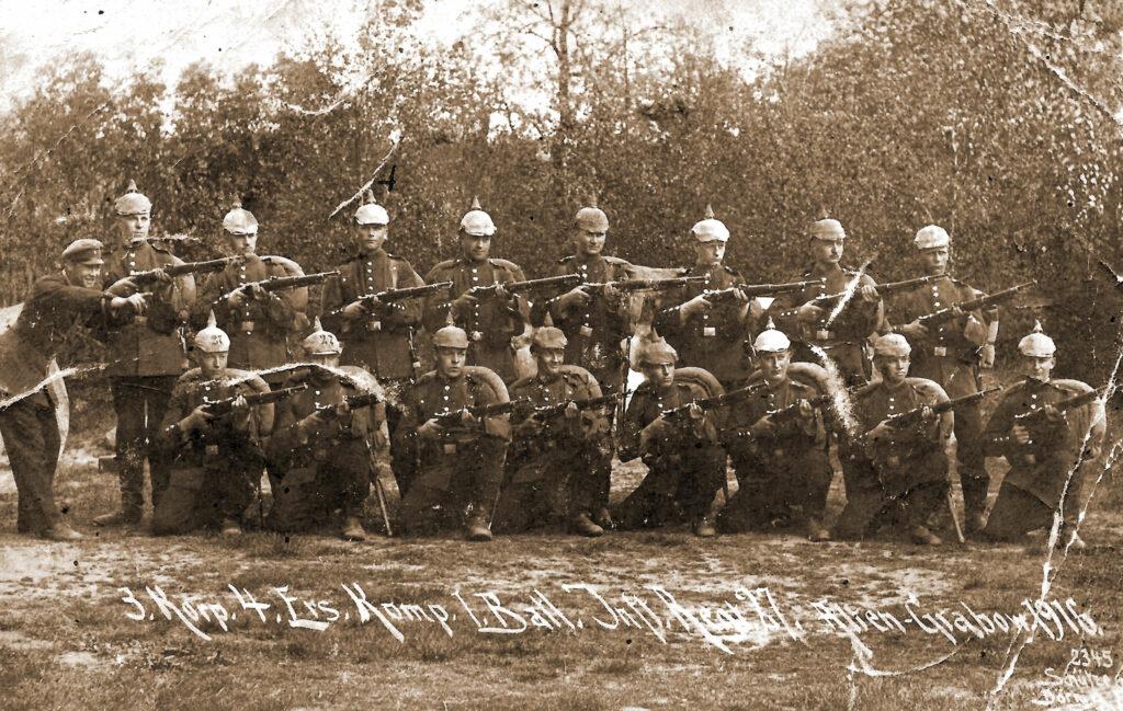 Jan Pietraszak - korpus pruski (zdjęcie udostępnił Remigiusz Maćkowiak)