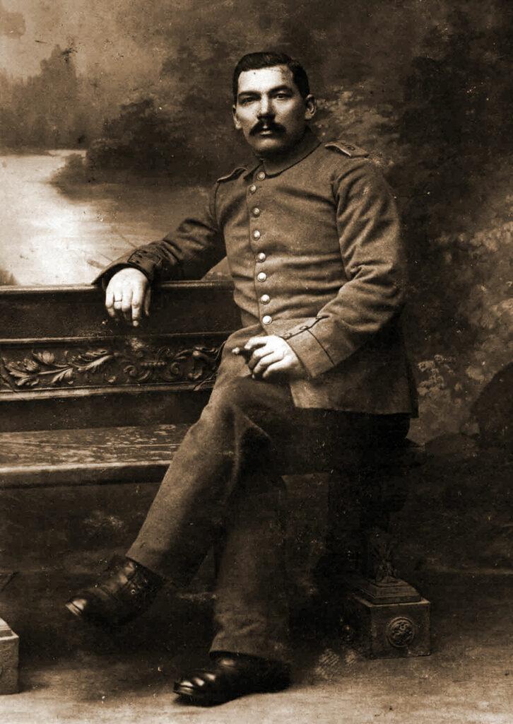 Józef Budzyński (zdjęcie udostępnił Remigiusz Maćkowiak)