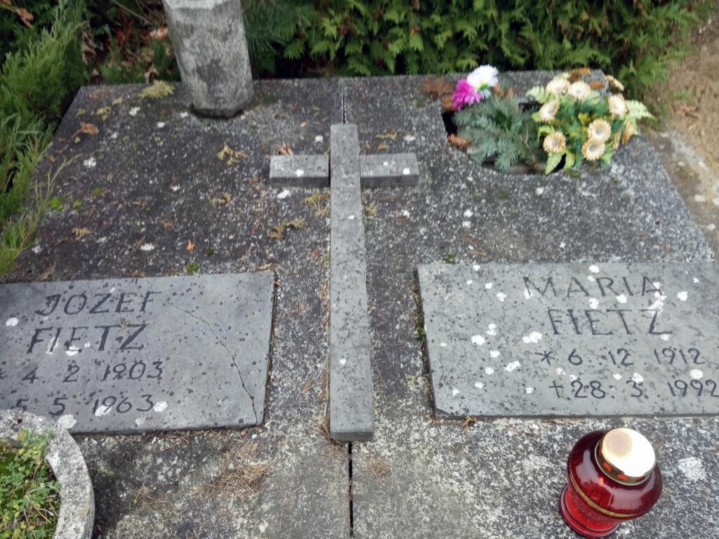 Józef Fietz - cmentarz junikowski w Poznaniu (zdjęcie udostępnił Remigiusz Maćkowiak)