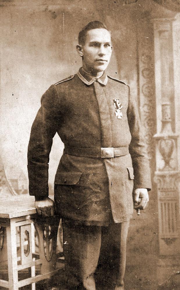 Józef Fiszer (zdjęcie udostępnił Remigiusz Maćkowiak)