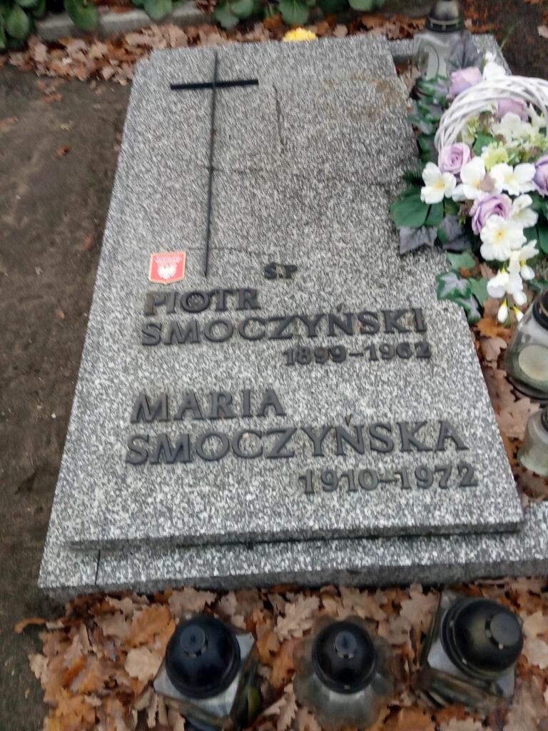 Piotr Smoczyński - cmentarz parafialny we Wrześni (zdjęcie udostępnił Remigiusz Maćkowiak)