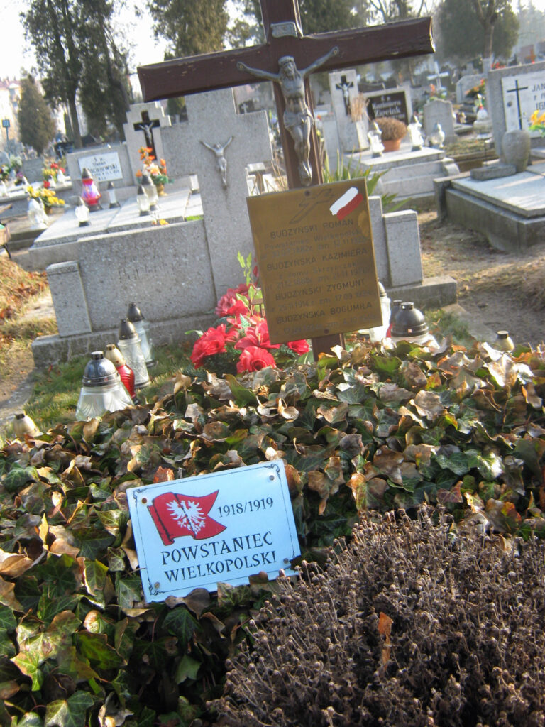 Roman Budzyński - cmentarz parafialny we Wrześni (zdjęcie Remigiusz Maćkowiak)
