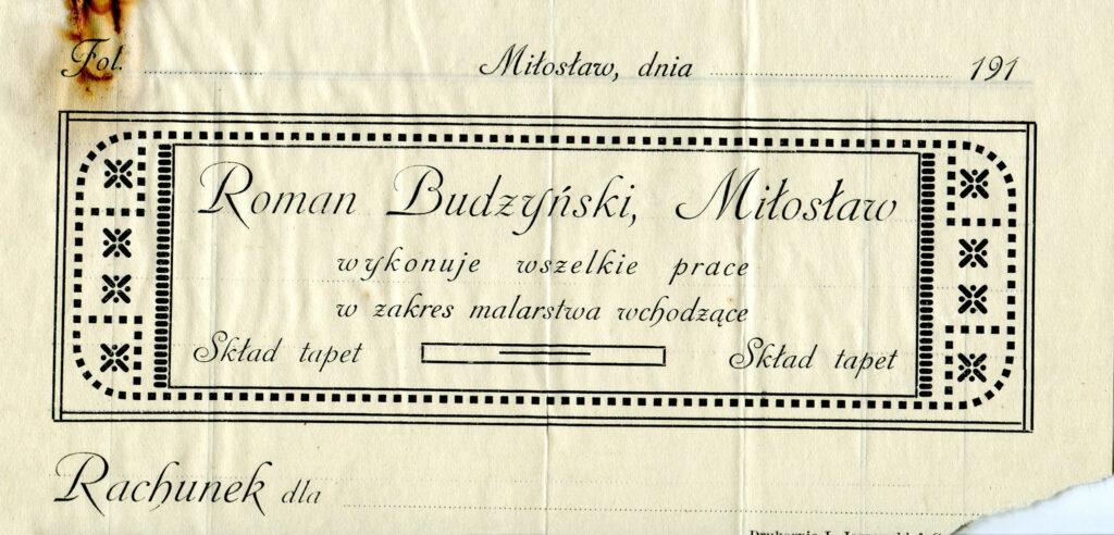Roman Budzyński - reklama (udostępnił Remigiusz Maćkowiak)