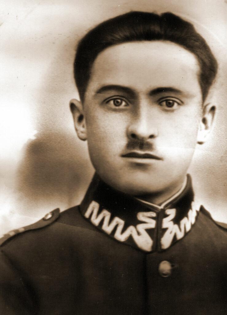 Stanisław Dutkiewicz podoficer 68 pp (zdjęcie udostępnił Remigiusz Maćkowiak)