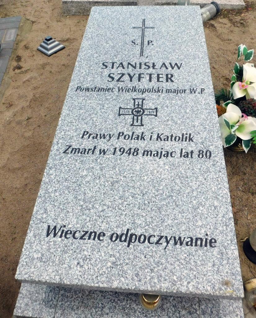 Stanisław Szyfter - cmentarz parafialny w Żerkowie