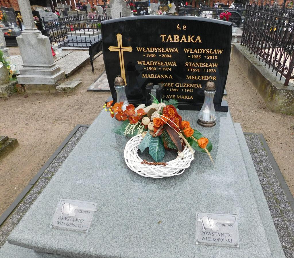 Stanisław Tabaka - cmentarz w Miłosławiu (zdjęcie udostępnił Remigiusz Maćkowiak)
