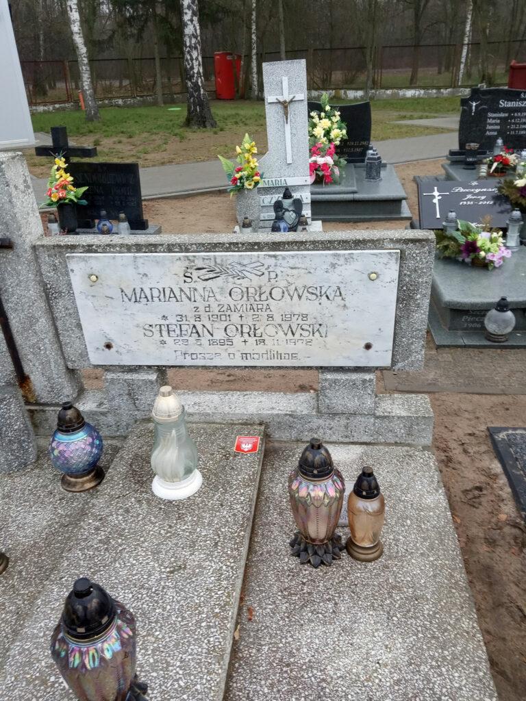 Stefan Orłowski - cmentarz komunalny we Wrześni (zdjęcie udostępnił Remigiusz Maćkowiak)