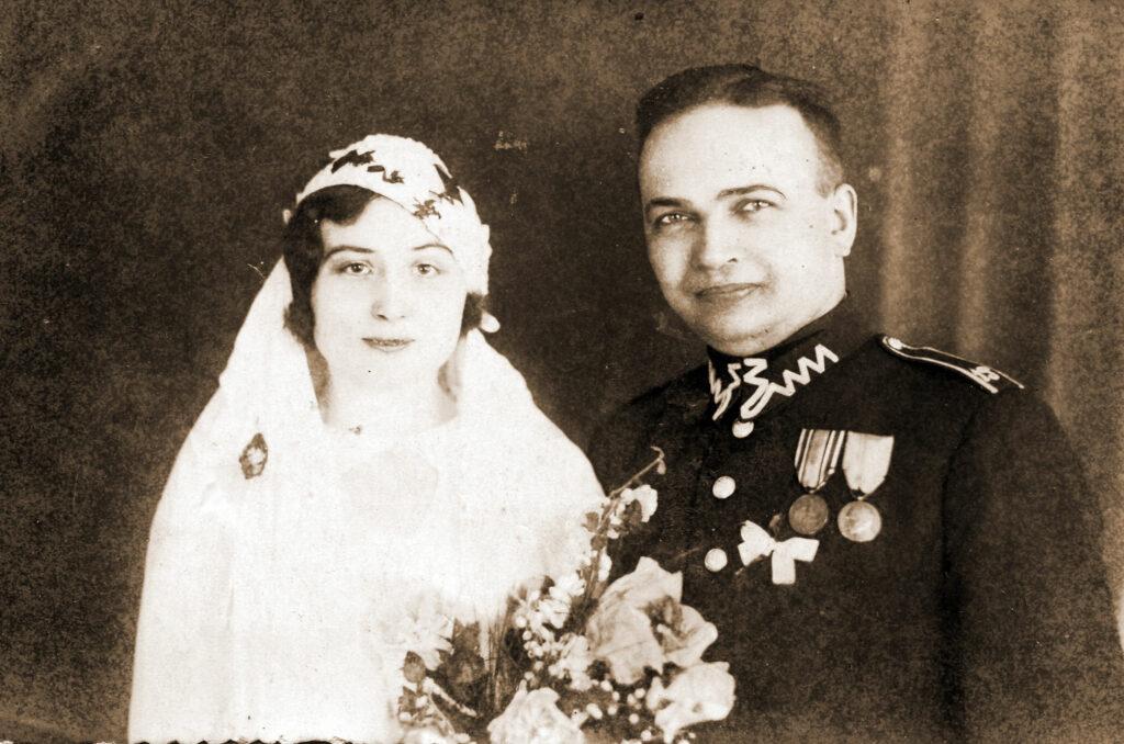 Władysław Kubiak z żoną Bronisławą (zdjęcie udostępnił Remigiusz Maćkowiak)