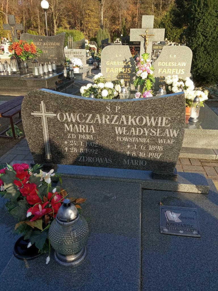 Władysław Owczarzak - cmentarz komunalny we Wrześni (zdjęcie udostępnił Remigiusz Maćkowiak)