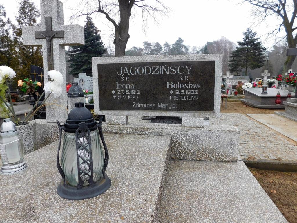 Bolesław Jagodziński - cmentarz komunalny we Wrześni (zdjęcie udostępnił Remigiusz Maćkowiak)