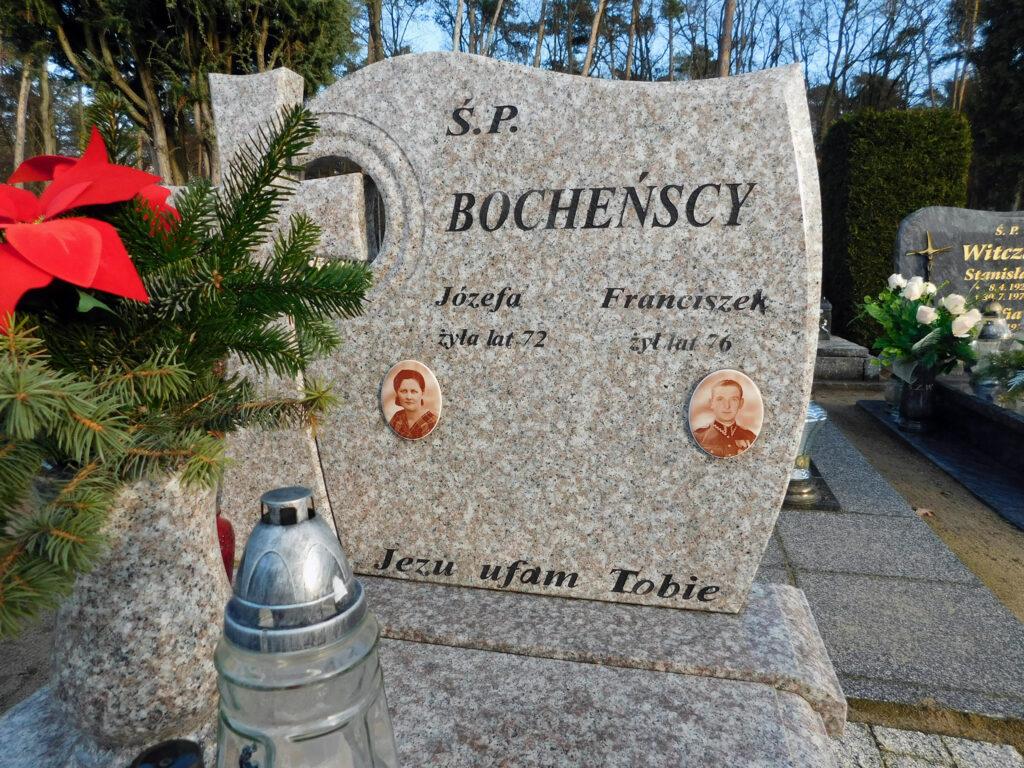 Franciszek Bocheński - cmentarz komunalny we Wrześni (zdjęcie udostępnił Remigiusz Maćkowiak)