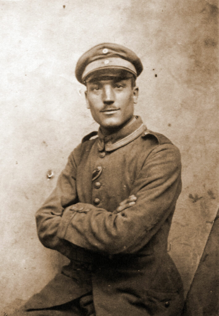 Franciszek Kęsy (zdjęcie udostępnił Krzysztof Nowak - wnuk)