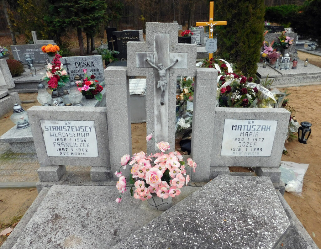 Franciszek Staniszewski - cmentarz komunalny we Wrześni (zdjęcie udostępnił Remigiusz Maćkowiak)