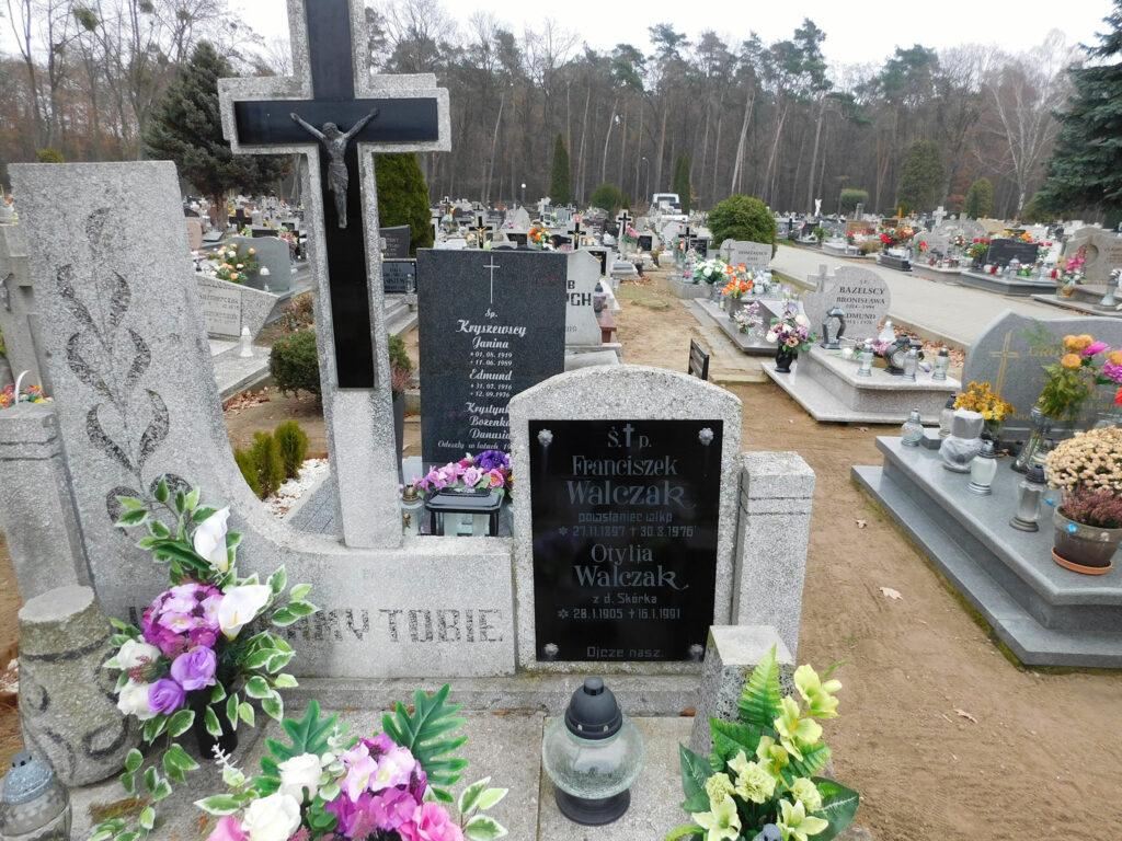 Franciszek Walczak - cmentarz komunalny we Wrześni (zdjęcie udostępnił Remigiusz Maćkowiak)