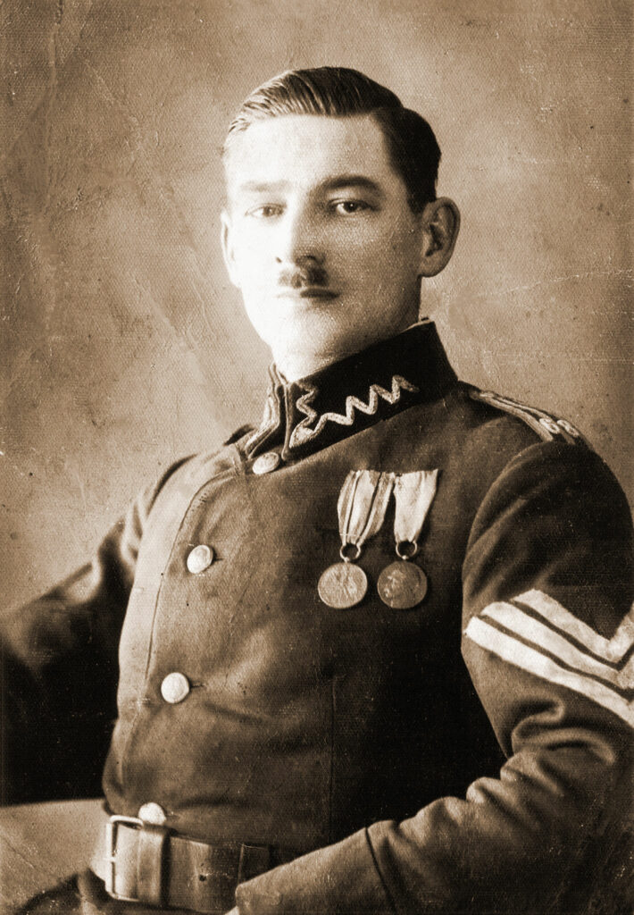 Franciszek Woźniak (zdjęcie udostępnił Remigiusz Maćkowiak)
