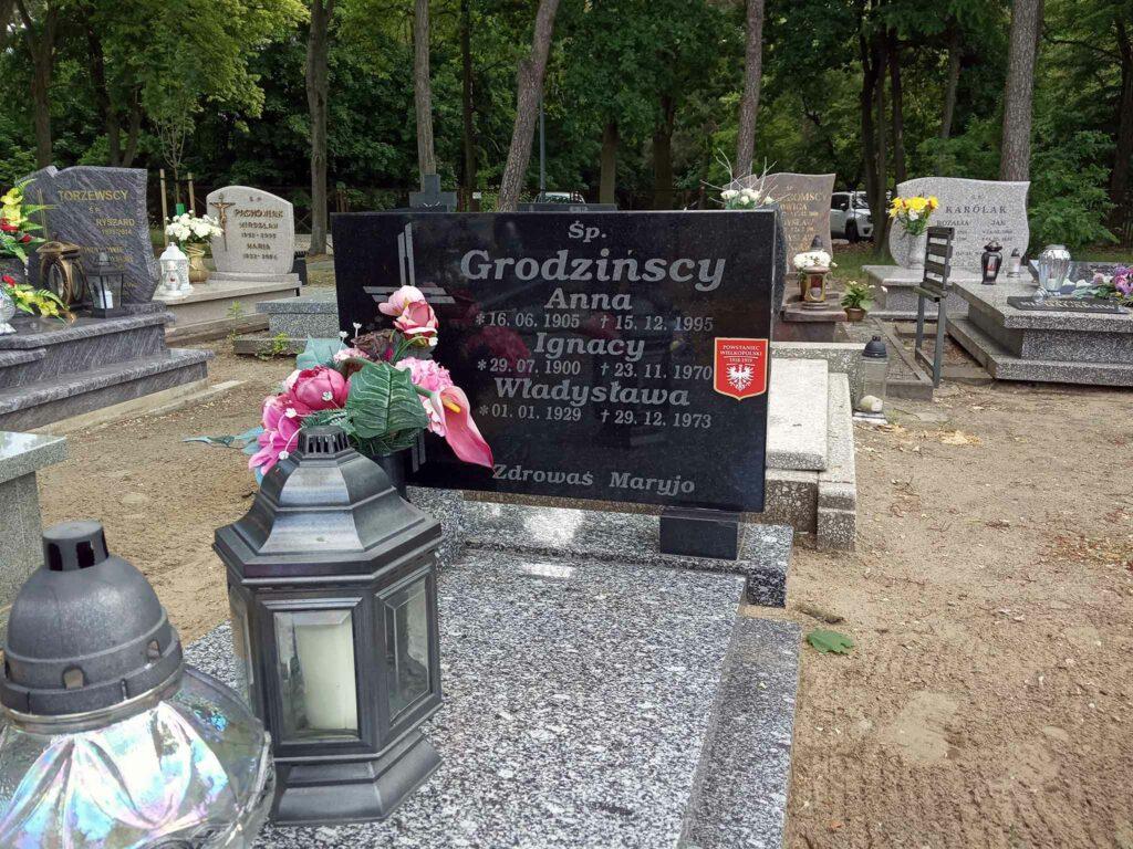 Ignacy Grodziński - cmentarz komunalny we Wrześni (zdjęcie udostępnił Remigiusz Maćkowiak)