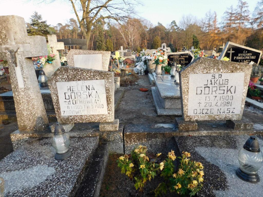 Jakub Górski - cmentarz komunalny we Wrześni (zdjęcie udostępnił Remigiusz Maćkowiak)