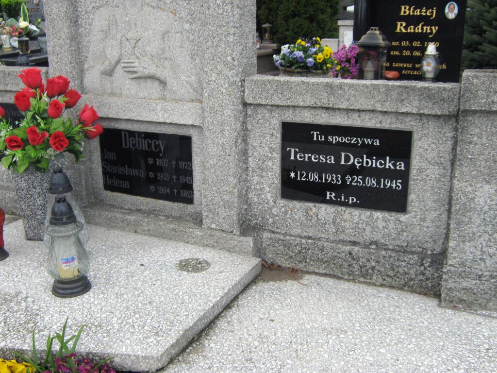 Jan Dębicki - cmentarz w Kołaczkowie (zdjęcie udostępnił Remigiusz Maćkowiak)
