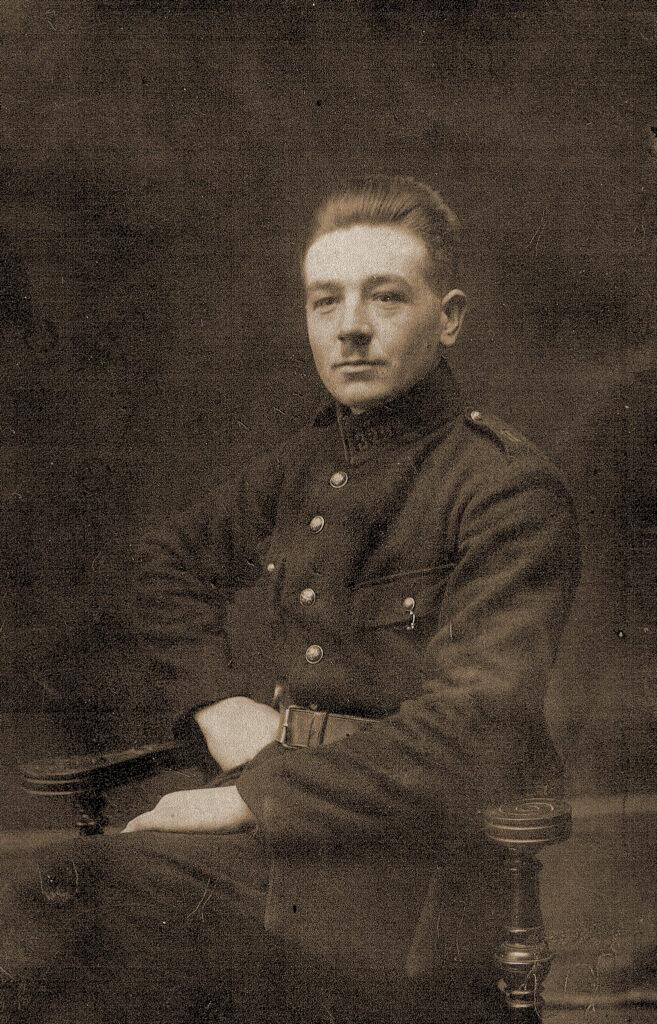 Jan Janiszewski z czasów powstania (zdjęcie udostępnił Błażej Janiszewski)