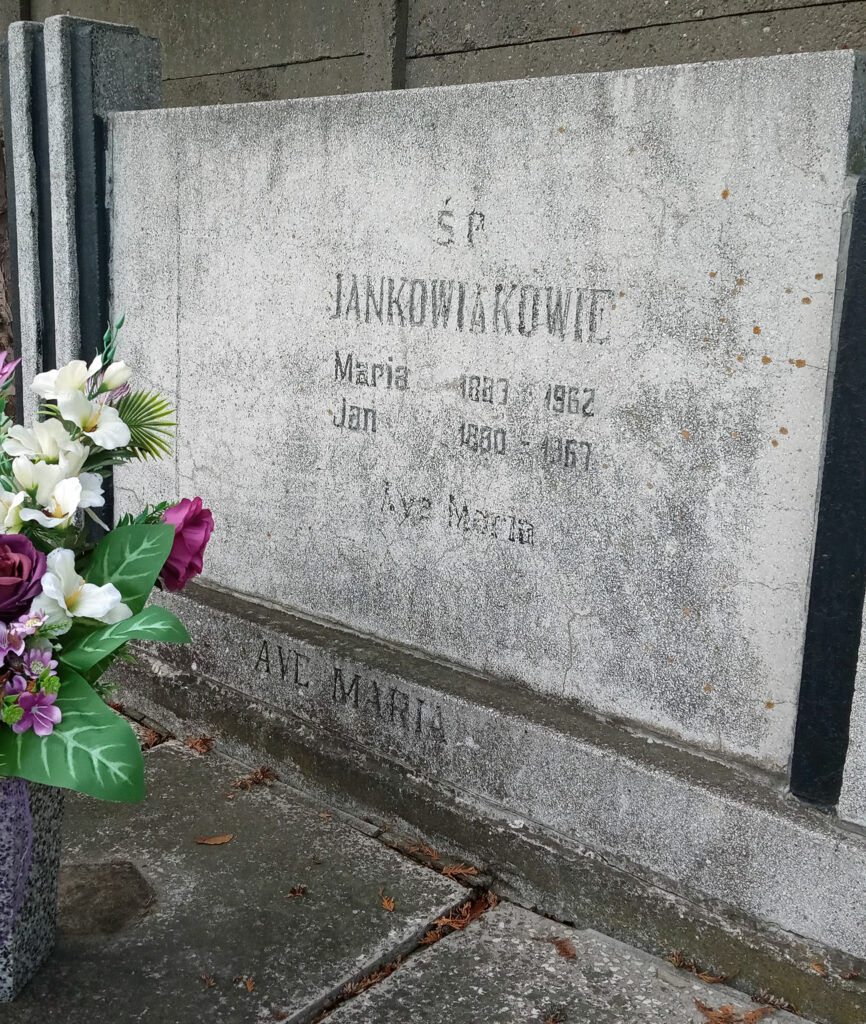 Jan Jankowiak - cmentarz parafialny we Wrześni (zdjęcie udostępnił Remigiusz Maćkowiak)