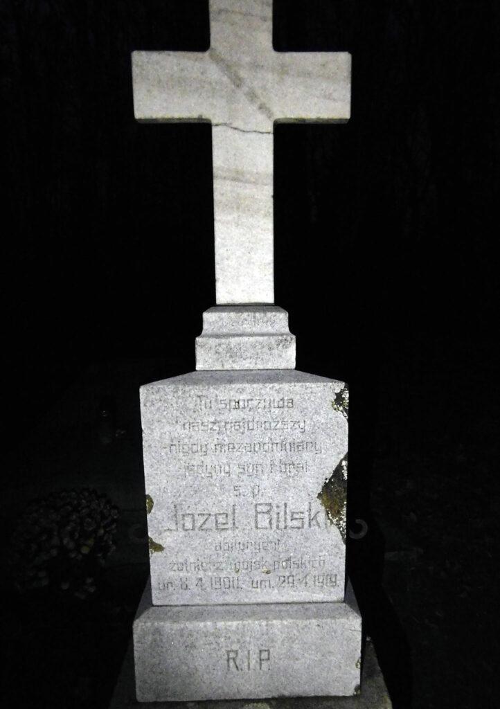 Józef Bilski - cmentarz garnizonowy w Poznaniu grób nr 12 w kwatera 9 (zdjęcie udostępnił Remigiusz Maćkowiak)