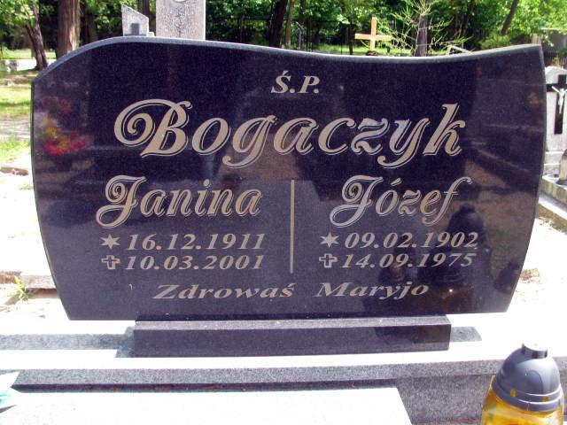 Józef Bogaczyk - cmentarz komunalny we Wrześni
