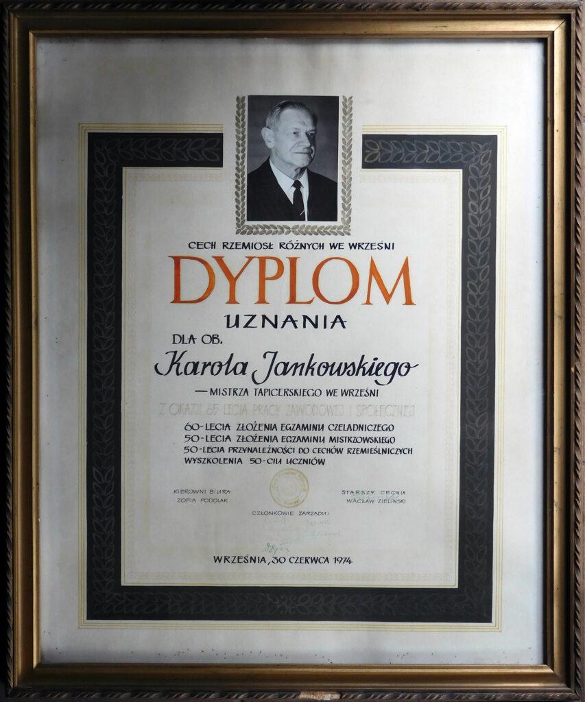 Karol Jankowski (zdjęcie udostępnił Remigiusz Maćkowiak)
