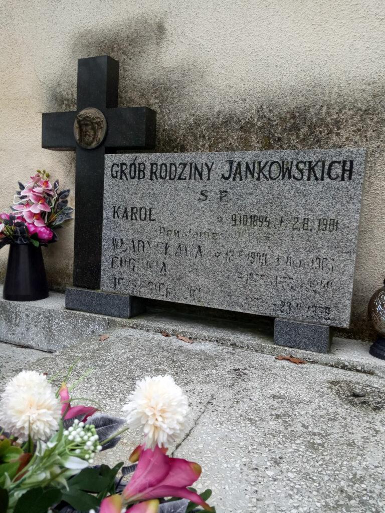 Karol Jankowski - cmentarz parafialny we Wrześni (zdjęcie udostępnił Remigiusz Maćkowiak)