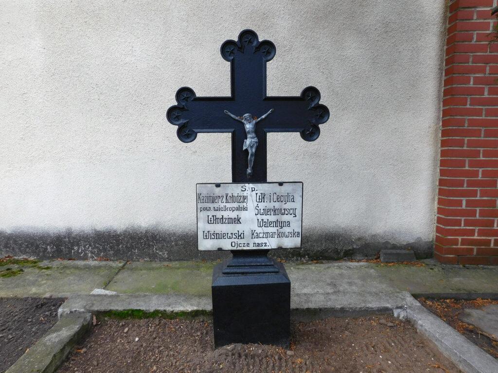 Kazimierz Kołodziej - cmentarz parafialny we Wrześni (zdjęcie udostępnił Remigiusz Maćkowiak)