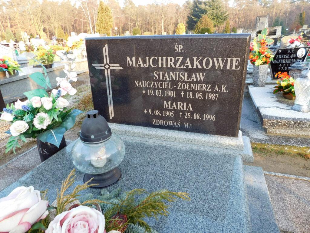 Stanisław Majchrzak - cmentarz komunalny we Wrześni (zdjęcie udostępnił Remigiusz Maćkowiak)