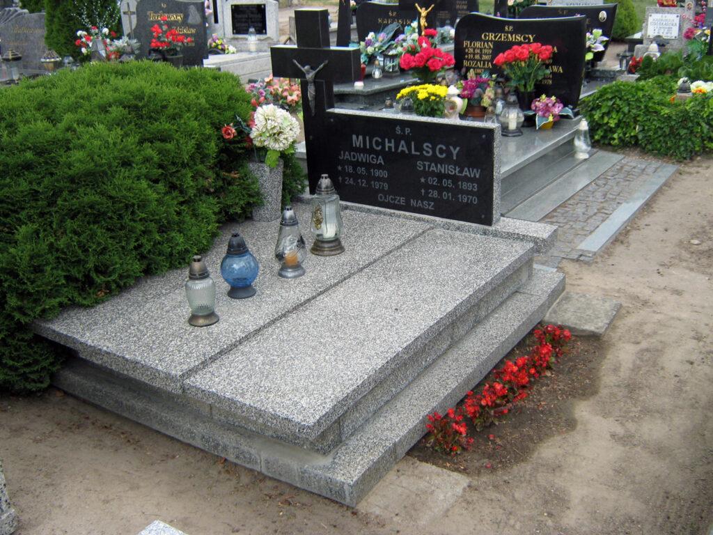 Stanisław Michalski - cmentarz parafialny w Marzeninie (zdjęcie udostępnił Remigiusz Maćkowiak)