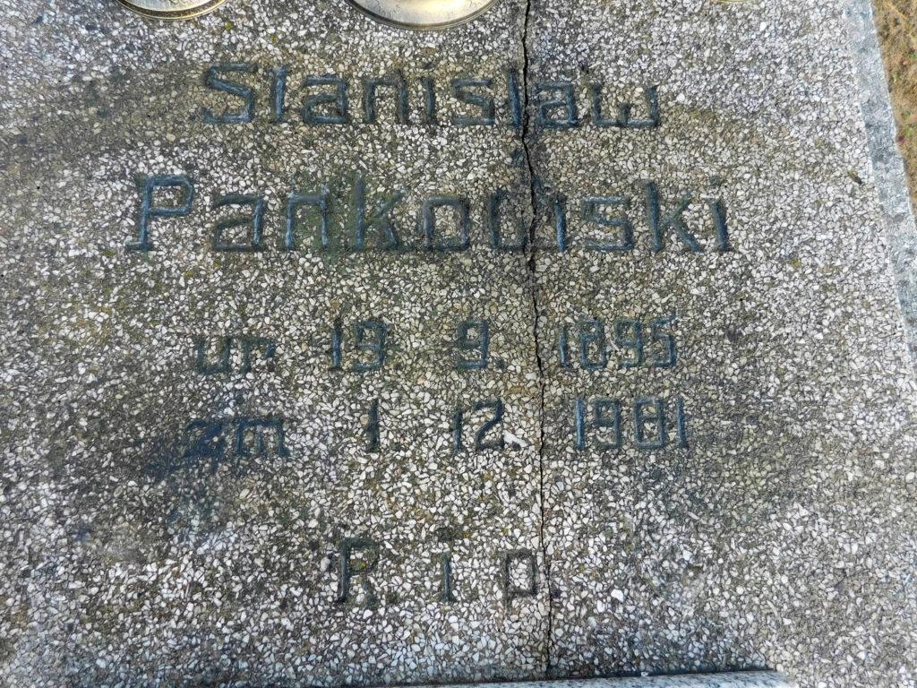 Stanisław Pankowski - cmentarz komunalny we Wrześni (zdjęcie udostępnił Remigiusz Maćkowiak)