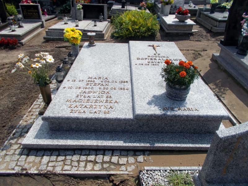 Stefan Dopieralski - cmentarz w Pobiedziskach