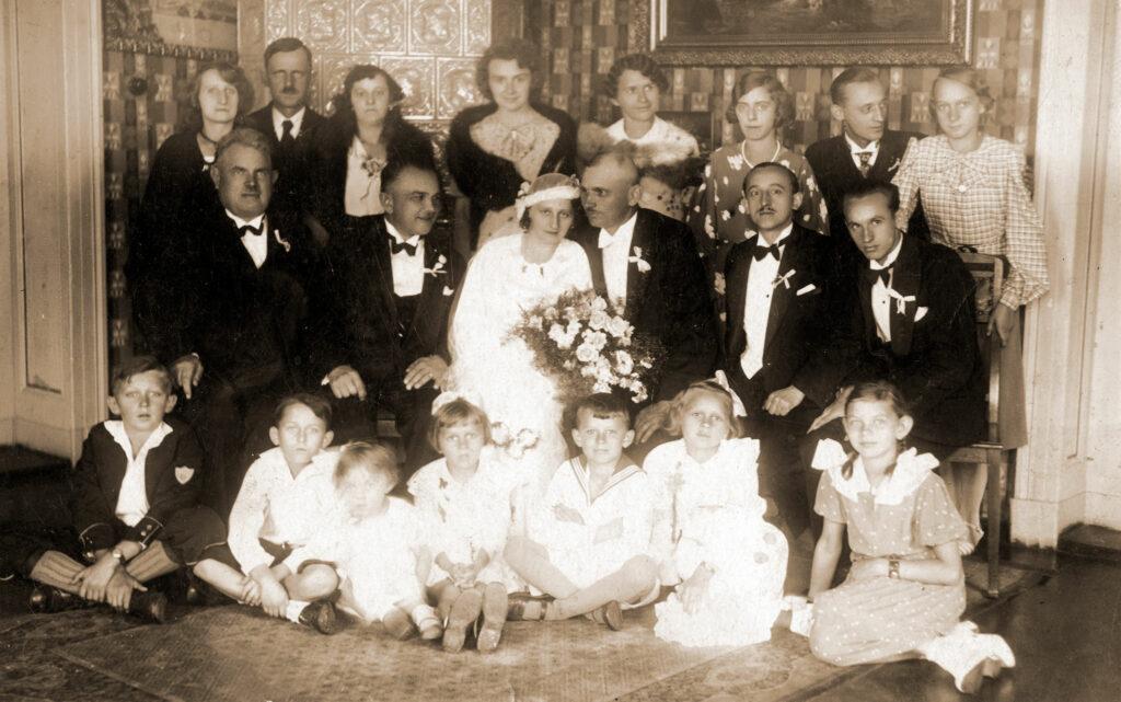 Stefan Dzieciuchowicz - zdjęcie ze ślubu (zdjęcie udostępnił Jędrzej Wieczorkiewicz)