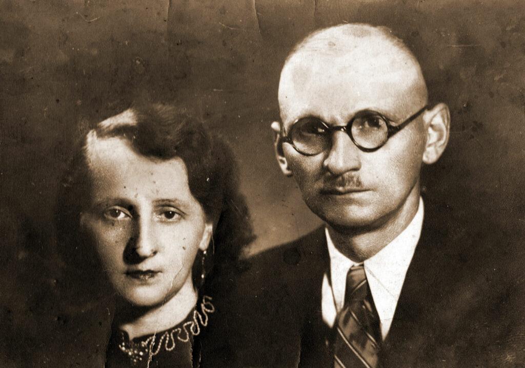 Stefan Dzieciuchowicz z żoną (zdjęcie udostępnił Jędrzej Wieczorkiewicz)