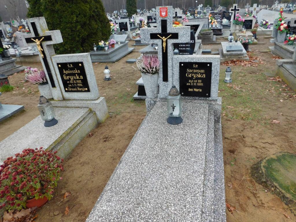 Szczepan Gryska - cmentarz komunalny we Wrześni (zdjęcie udostępnił Remigiusz Maćkowiak)